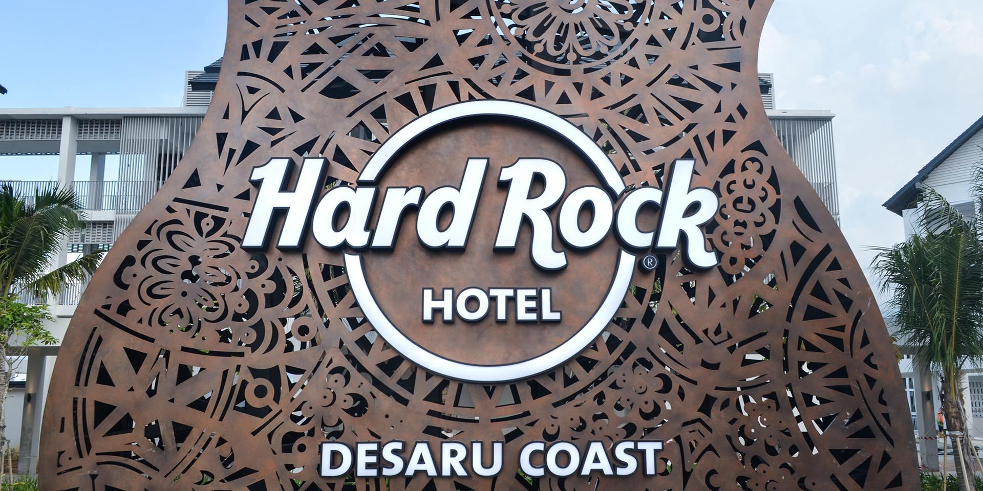 Hard Rock Guitar Desaru Coast