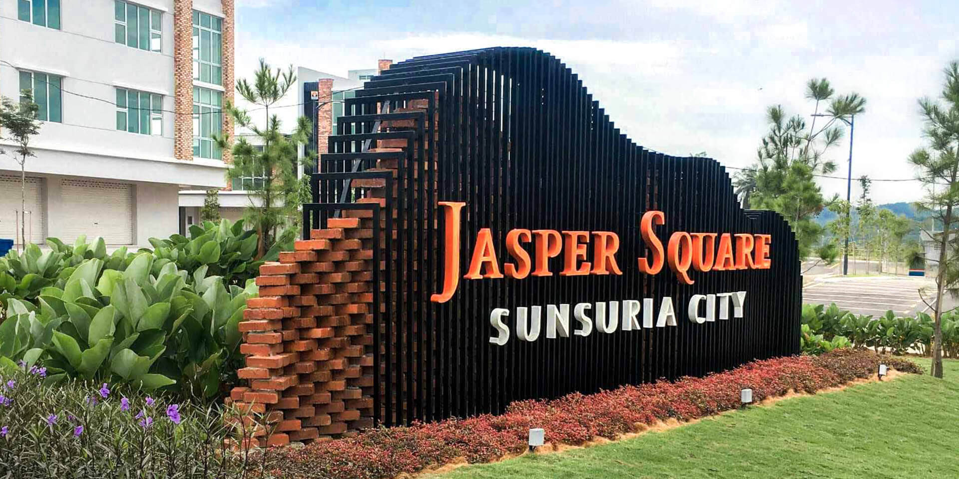Jasper Square Entrance Statement